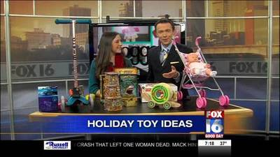News video: The Toggery Presents Holiday Toy Ideas