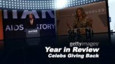 News video: Year In Review: Celebs Giving Back