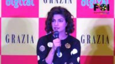 News video: Priyanka Chopra Launches Grazia Magazine December Issue